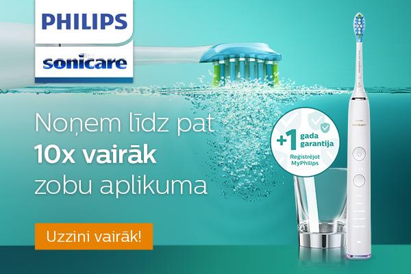 Philips Sonicare elektriskā zobu birste